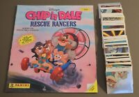 1989 Panini Chip n Dale Empty Album + Complete set 240 stickers