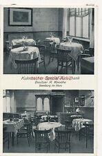 Ak, Kulmbacher Spezial Ausschank, Ilsenburg Harz, R. Knoche, 1940 (W)1488