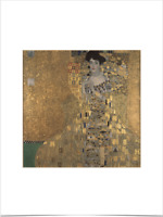 GUSTAV KLIMT ADELE BLOCH BAUER LIMITED EDITION BIG BORDERS ART PRINT 18X24 gold