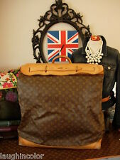 Auth Vintage LOUIS VUITTON Steamer Bag Travel Case Trunk Keepall Accessory LV