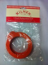 Replacement seals for small kilner jars rubber seals for 125ml kilner clip top