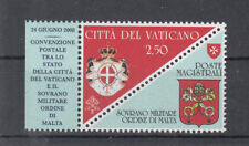 G 004 ) VATICAN 2008 MNH Postal Convention with Order of Malta mint never hinged