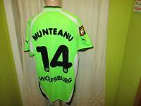"""VfL Wolfsburg Puma Matchworn Trikot 2000/01 """"VW"""" + Nr.14 Munteanu Gr.XXL TOP"""