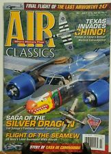 Air Classics July 2016 Texas Invades Chino Silver Dragon Plane FREE SHIPPING sb