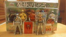 Gaoranger Ranger Key Set NRFP Gaoking Power Rangers Wild Force Sentai