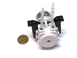 Dosing Pump Peristaltic Pump 12V Mini DC Liquid Water Motor pump Fish Tank A20