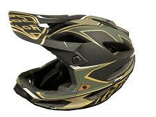 Troy Lee Designs Stage Ropo MIPS Bicycle Helmet Green/Gold