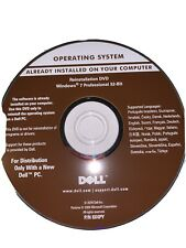 Dell Operating System Reinstallation DVD Windows 7 Professional 32-bit