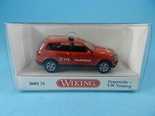 WIKING 060128 VW TOUAREG FEUERWEHR 1:87