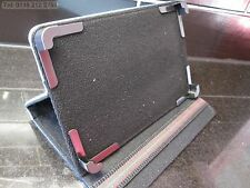"""Blue Secure Laptop Angle Case/Stand for 7"""" ViewSonic Tablet ViewPad 7 Viewpad7"""