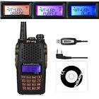 Baofeng UV-6R VHF/UHF Dual Band Radio Talkie Walkie +CD USB Programmation 2016
