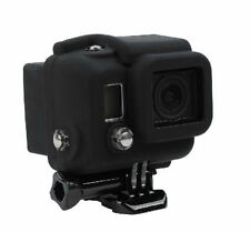 Black Silicon Case Protective Dirt proof Skin Rubber Cover For GoPro HERO 4 3+