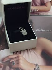 Authentic PANDORA VALENTINES LOVE NOTE  Pendant   Charm 791246