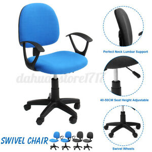 Swivel Chair Computer Office Executive Desk Study Seat Adjustable Ergonomic