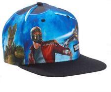 Guardians of the Galaxy Marvel Mens Adjustable Snapback Hat Cap Groot Rocket New