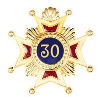 New Superb High Quality Masonic Rose Croix 30th Degree Star Jewel Medal Regalia