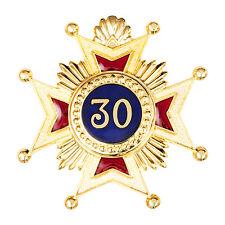 More details for new superb high quality masonic rose croix 30th degree star jewel medal regalia