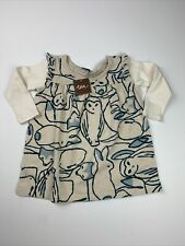Baby Girls 12-18 Months Tea Collection Artic Animals Dress NWT