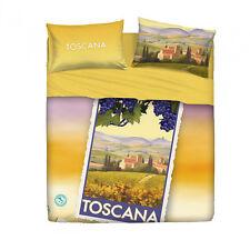 Completo lenzuola Toscana di Bassetti Souvenir Matrimoniale Q983