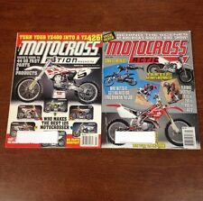 LOT OF 2 2000 MOTOCROSS ACTION MARCH - APRIL 125 250 450 SHOOTOUT & LOTS MORE YZ