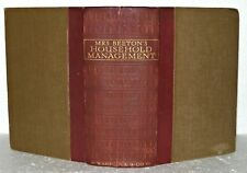 Mrs Beeton's Book of Household Management  circa 1925 / 35 LARGE OLD BOOK