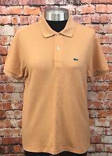 LACOSTE Polo Shirt Uk 16 Short Sleeve Women's Designer Top Summer
