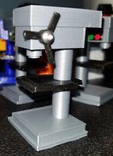 RC 1/10 Scale Silver Black Drill Press Stand Rock Crawler Truck Garage Accessory