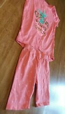 """Children's Place Summer Outfit Girls 5-6 """"good vibes only"""" pineapple."""
