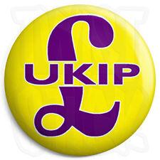 UKIP Logo - 25mm Button Badge - General Election Political UK Independence Party