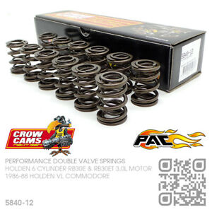 CROW CAMS 345lb DOUBLE VALVE SPRINGS 6 CYL RB30ET TURBO 3L [HOLDEN VL COMMODORE]