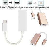 3USB-C to Display/Mini Display Port Converter 4K 60Hz Standard DP Type-C Adapter