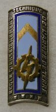 ORIGINAL Vintage FRENCH ARMY TECHNICAL SCHOOL BADGE DISTINCTIVE UNIT INSIGNIA