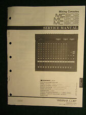 Yamaha Mixing Console MC802 1202 1602 Service Repair Shop Manual Wiring MC 802
