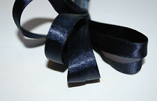 ***NAVY - SATIN -  Ribbon - 10mm Wide **