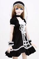[wamami] 129# Black Dress/Suit/Outfit 1/3 SD DOD DZ BJD Dollfie Doll