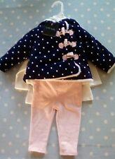 Bebé Niña Traje de la edad de 3-6 meses. by Cynthia Rowley. Abrigo, Pantalones Y Top. BNWT