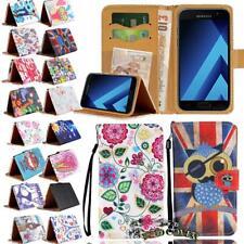 Per Samsung Galaxy J1 J2 J3 J4-Flip in Pelle Portafoglio Carta Stand Custodia Cover Telefono