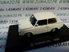 Voiture 1/43 IXO AUTO PLUS : TRABANT 601 1980 DDR