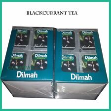 BLACKCURRENT  Ceylon Black Tea -120 TEA  Bags DILMAH QUALITY BLACK CURRENT TEA