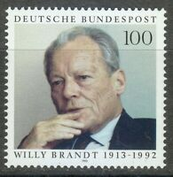 Germany 1993 MNH Mi 1706 Sc 1819 Willy Brandt.German politician and statesman **