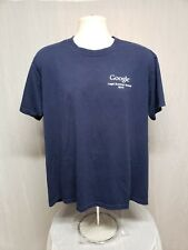 2010 Google Legal Summer School Adult Large Blue TShirt