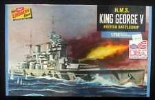 New in Shrink-Wrap: Lindberg H.M.S. King George V Battleship 1:750 Model Kit
