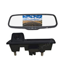 Vardsafe | Backup Camera & Rear View Mirror Monitor For Audi A4 A6 A8L S5 Q3 Q5