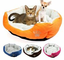 Soft Pet Dog Cat Small Bed Warm House for Pets Cotton Cushion Sleeping Sofa Bed