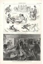 Under Ground Life in New York - Health Officers Clearing out a Dive   - 1873