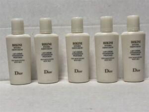 Lot 5pcs Dior Bikini Hydra Diffusion Deep Moisturizing Body Milk 15ml Samples