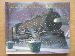 The Polar Express written illustrated by Chris Van Allsburg small hardback book