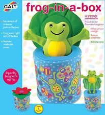 Galt Toys New Frog in a Box - FAST & FREE DELIVERY