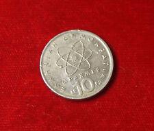 Münze Coin Griechenland zehn 10 Drachme Drachmen Drachmai Apaxmai 1992 (H7)