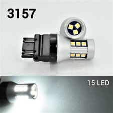 Front Signal T25 3057 3157 3457 4157 LED White Bulb OSRAM 15 SMD B1 For Dodge A